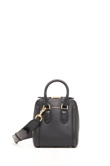 ALEXANDER MCQUEEN Leather shoulder bag with detachable strap