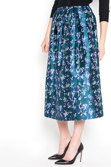 OSCAR DE LA RENTA Flower all over printed  skirt