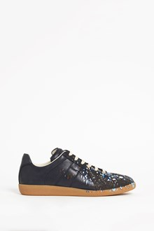 MAISON MARGIELA multicolor printed leather sneaker