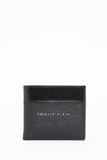 PHILIPP PLEIN Logoed leather wallet