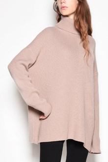AGNONA Cashmere turtleneck oversize sweater