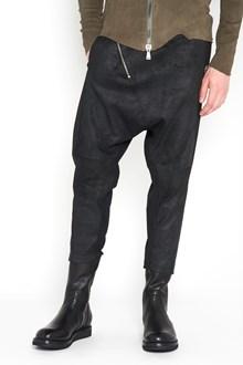 10SEI0OTTO Zipped stretch leather pants