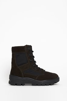 YEEZY 'Crepe boot oil' laced boots