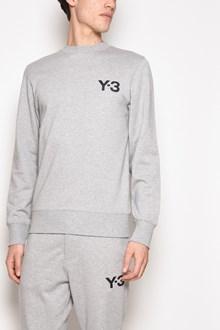 Y-3 Crew-neck logo printed sweatshirt