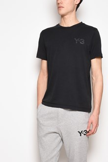 Y-3 Logo printed cotton t-shirt