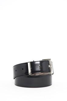 SALVATORE FERRAGAMO Adjustable calf leather belt