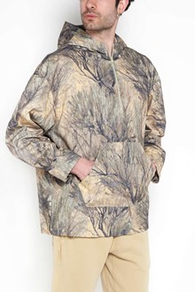 YEEZY 'Baranches' printed hooded jacket with pocket