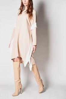 AGNONA lateral panels wide dress