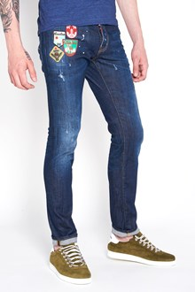 DSQUARED2 Denim jeans with patch
