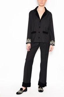 F.R.S. - FOR RESTLESS SLEEPERS 'Ade' suits with velvet details and embroidery on the sleeves