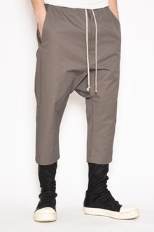 RICK OWENS Cropped pants with drawstrings