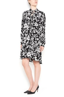 BOUTIQUE MOSCHINO 'Flowers' printed dress