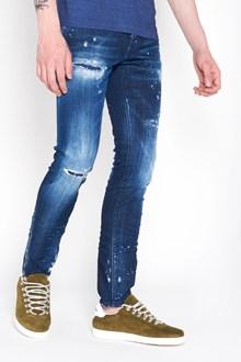 DSQUARED2 'Cool guy blu slash wash' denim destroyed jeans