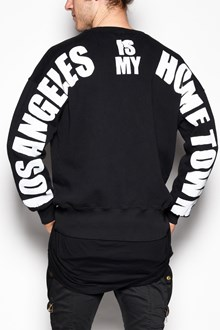 FAITH CONNEXION Crew-neck sweater with ' Los Angeles is my hometown' print