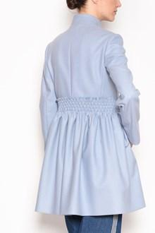 REDVALENTINO Coat with elastic waist on the back