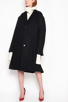 MAISON MARGIELA Long British felt coat with button closure