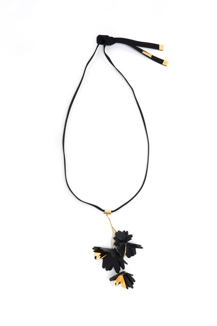 MARNI Necklace with flower pendant