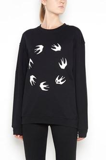 McQ ALEXANDER McQUEEN 'Round swallow' printed sweatshirt