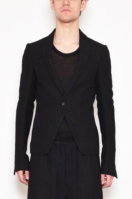 RICK OWENS 'Gishort blazer' jacket with one button