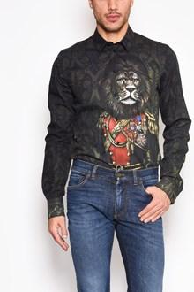 DOLCE & GABBANA 'Lion' all over printed shirt
