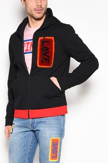 FENDI 'Love' patch hoodie