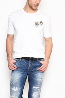 DOLCE & GABBANA T-shirt with 'Stylists with crown' patch