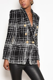 BALMAIN double breasted jacket with buttons closure