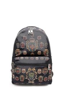 DOLCE & GABBANA 'Vulcano' printed zipped backpack