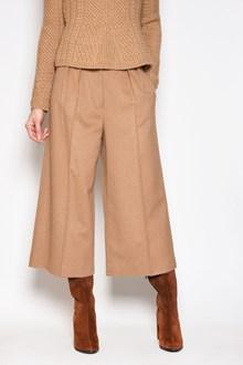 MAX MARA 'Eveline' wool large 3/4 trousers