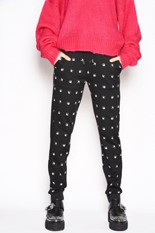 McQ ALEXANDER McQUEEN Nylon polkadot pants with pockets