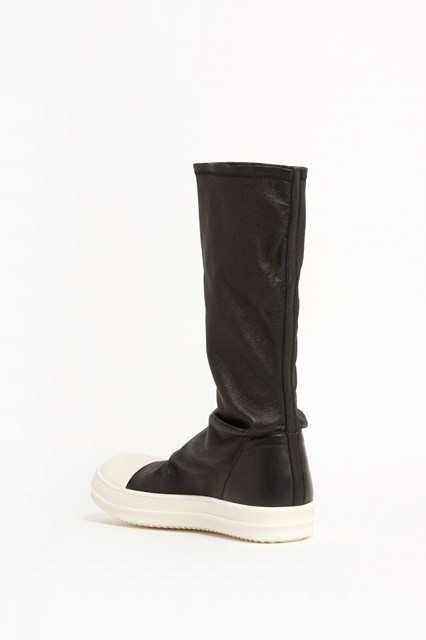RICK OWENS High  'Sock sneaker' in lamb leather