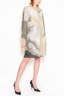 MAISON MARGIELA Oversize chemise dress with glittered polka dots