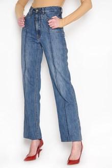 MAISON MARGIELA Jeans with stripe