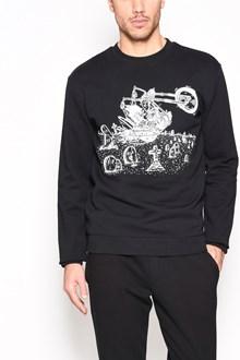 McQ ALEXANDER McQUEEN Cotton crewneck sweater with print
