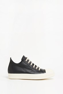 RICK OWENS calf leather low sneaker