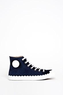 CHLOÉ 'Kyle' sneaker in suede
