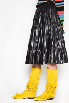 J.W.ANDERSON Leather tulip skirt