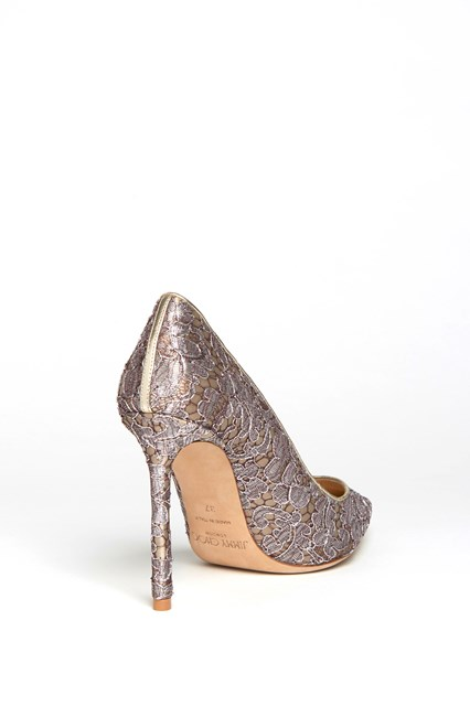 JIMMY CHOO 'Romy' pumps with 'Lovelace' lace