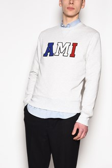 AMI 'Ami' embroidered crew-neck sweatshirt