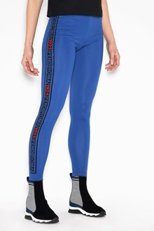 FENDI Leggings with side contrast bands