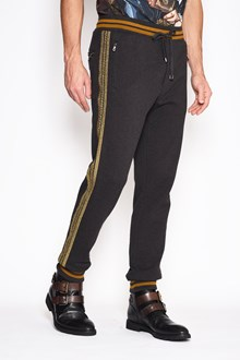 DOLCE & GABBANA Sweatpants with side bands