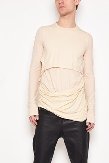 RICK OWENS 'Smiley' long sleeves eco jersey t-shirt