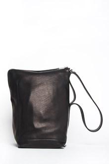 RICK OWENS mini 'Bucket' leather handbag