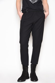 ANN DEMEULEMEESTER 'Blackjack' high waist trousers with belt