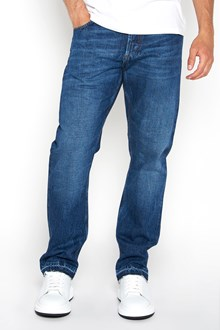 ALEXANDER MCQUEEN Cropped fringed denim jeans