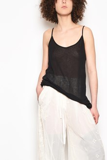 ANN DEMEULEMEESTER 'Shiloh' semitransparent long tank top