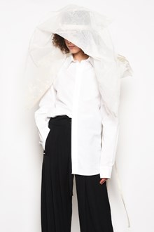 ANN DEMEULEMEESTER 'Byron' shirt with ribbon on the back