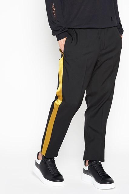 pantaloni adidas con banda laterale
