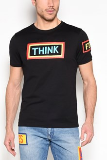 FENDI 'Think' printed t-shirt