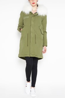 MR & MRS ITALY Army long parka,army quilt lining,hood with murmasky